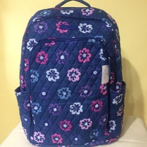 Vera Bradley laptop backpack NWT